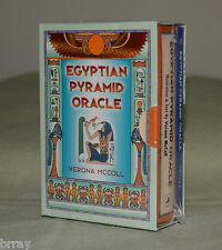 **OOP** Egyptian Pyramid Oracle Book & Card Set Verona McColl  **NEW & SEALED**
