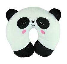 Cute Cartoon Panda Pattern Design Travel Car Neck Relax Pillow