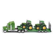 Siku 1837 US Tieflader mit 2 John Deere Traktoren Maßstab 1:87 NEU!  °