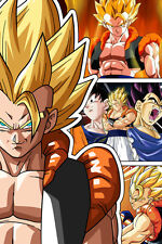 Dragon Ball Super/Z Gogeta SSJ 12in x 18in Poster Free Shipping