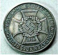 WW2 GERMAN COMMEMORATIVE COLLECTORS REICHSMARK COIN '39.