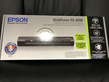 NEW Epson WorkForce ES-60W Wireless Portable Color Document Scanner