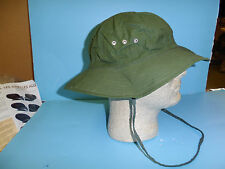 b6943 Vietnam NVA Green 3 vent Boonie cap North Vietnamese Army original small