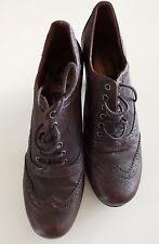 TAMARIS - Pumps, High Heels, Trichterabsatz 6,5 cm, Größe 38, Braun, 1 A Zustand