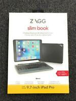 "New ZAGG Slim Book Wireless Keyboard & Detachable Case, For 9.7"" iPad Pro"