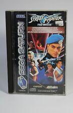 STREET FIGHTER THE MOVIE für Sega Saturn Spiel komplett mit Anleitung und OVP