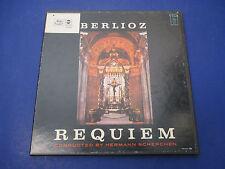 Berlioz Requiem Scherchen, WST-201, 2 Record Set