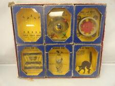 Antique 1930's Gilbert Co Chid's Toy 6 piece Game Set Original Boxes Rare