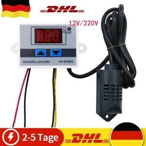 Digital Luftfeuchtigkeit Steuerung Controller Schalter Hygrostat Hygrometer DE