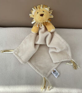 Jellycat Chime Chums Lion Soother Comforter Soft Toy Baby Cream Yellow Taggy