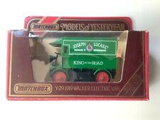 "MATCHBOX Models Of Yesteryear Y-29 1919 Walker Electric Van ""Joseph Lucas ltd"""