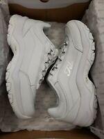 Fila Strada G Women's Fashion Sneakers; Color: White  | Size: 11 M US  set 2