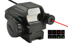 Red Dot Sight with Laser Sight Combo w/ Pressure Switch Red/Green Dot