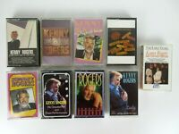 Vintage Lot of 9 Kenny Rogers Cassette Tapes Country Music
