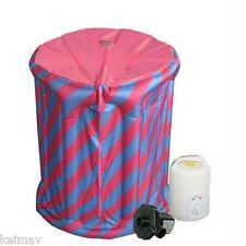 Portable Steam Sauna (Pink/Blue)
