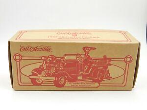 Vintage 1995 Ertl Diecast 1:24 Scale 1937 Ahrens-Fox Coca-Cola Fire Truck #H372