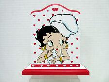 New Betty Boop Chef Napkin Holder w/ Hearts Bright Ideas Mfr # Bbk04R