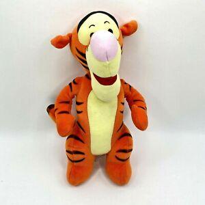 "Fisher Price Standing Tigger Plush Winnie The Pooh Disney Stuffed Animal 12"""