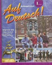 Auf Deutsch!: 1 Eins (German Edition)__Book only