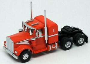 Athearn HO KW Kenworth OwnerOperator Truck Tractor Orange/Wht 1/87 ATH41047 NEW
