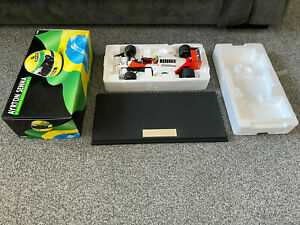 Aryton Senna Mclaren MP 4/5 1989 World Champion 1:18 Lang Minichamps 540 891801