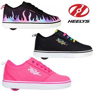 New Heelys Official Pro 20 Pink Girls Shoes Wheelie Trainers ✅FREE UK SHIPPING✅
