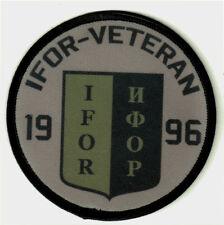 IFOR-VETERAN NR.1 Aufnäher/Patch Bundeswehr/Inplementation Force/Einsatz-Veteran