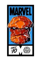 The Thing [Fantastic Four] Pin [Metal & Enamel] Mondo Marvel Comics Memorabilia