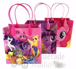 My Little Pony The Movie Party Favor Supplies Goody Loot Gift Bags [12ct]
