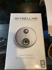NEW SkyBell SH02300SL HD WiFi Video Doorbell - Silver