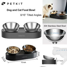 Petkit Tilted Cat Bowl w/ Stand Food Water Feeding Bowl Pet Dog Cat Feeder Dish