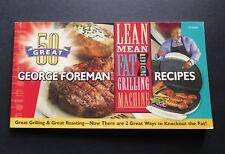 George Foreman Cookbook Grilling Machine & Roasting Recipes Griller Roast Meat