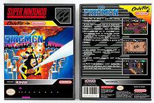 Firemen, The - Super Nintendo SNES Custom Case *NO GAME*