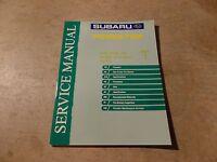 2004 Subaru Forester Factory Service Manual Vol 1 General Information OEM