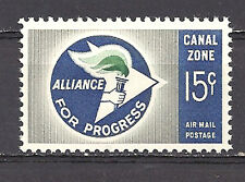 CANAL ZONE , US , 1963 , AIRMAIL ,  STAMP , PERF , MNH