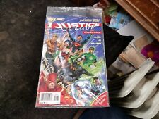 2011 Justice League No. 1 The New 52 Combo-Pack Still Sealed