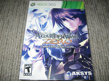 NEW SEALED Record of Agarest War Zero Limited Collector's Edition Xbox 360
