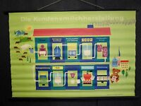 Vintage  1950s German Milk Advertising Poster LAYBY AVAILA