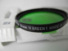 TIFFEN 55mm GREEN 1 FILTER WITH BOX UNUSED PERFECT with INSTRUCTION SHEET