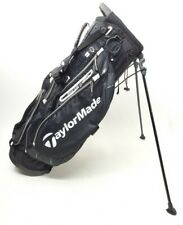 Taylormade PURE LITE 3.0 Black White 5 Way Golf Bag Stand Bag