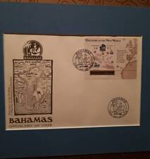 Bahamas First day issue. Columbus discovers the New World Issued 24 Feb 1988