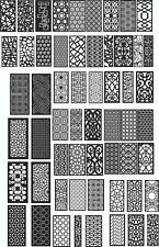 DXF of PLASMA ROUTER Laser Cut -CNC Vector DXF-CDR - AI  Art file 130 ITEMS