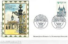 1986*ENVELOPPE ILLUSTREE*FDC 1°JOUR!!**NANCY-PORTE DE LA CRAFFE**TIMBRE Y/T 2419
