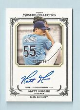 MATT MOORE 2013 TOPPS MUSEUM COLLECTION AUTOGRAPH AUTO /399