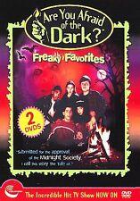 Are You Afraid of the Dark? - Freaky Favorites -  REGION 1 DVD (2 Disc Set) RARE