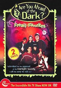 Are You Afraid of the Dark Freaky Favorites (DVD 2006 2-Disc) RARE TV SERIES NEW