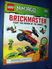 LEGO NINJAGO 2012 BRICKMASTER - 156 Blocks 2 Mini figures NEW Sealed Age 6+