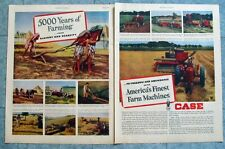 1949 Case Tractor Ad Case Model A To Freedom and Abundance with America's Finest