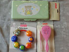 Fisher Price Baby Wipes Case Brush Comb Teethers Travel Grooming NEW!