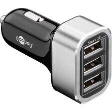 KFZ Ladeadapter 3x USB Port 5500mA intelligenter ID Chip 12V/24V Auto Ladegerät